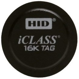 HID Tag iCLASS Adhesive Back