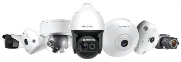 Hikvision Box Bullet Fisheye Pan Tilt Zoom Dome Cameras