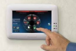 Honeywell Commercial Intrusion Keypad Graphic Touchscreen