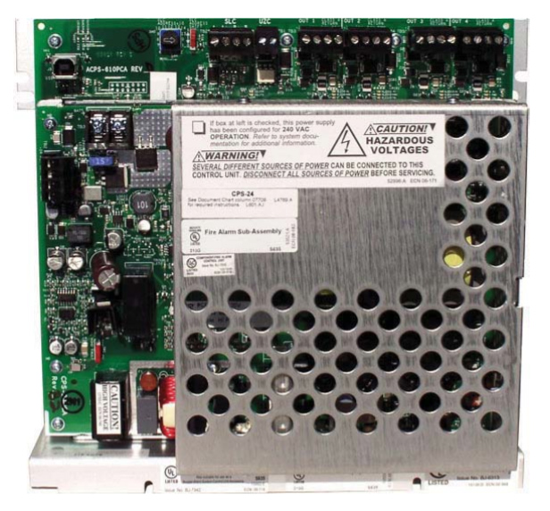 NOTIFIER ACPS-610 Addressable Charger Power Supply