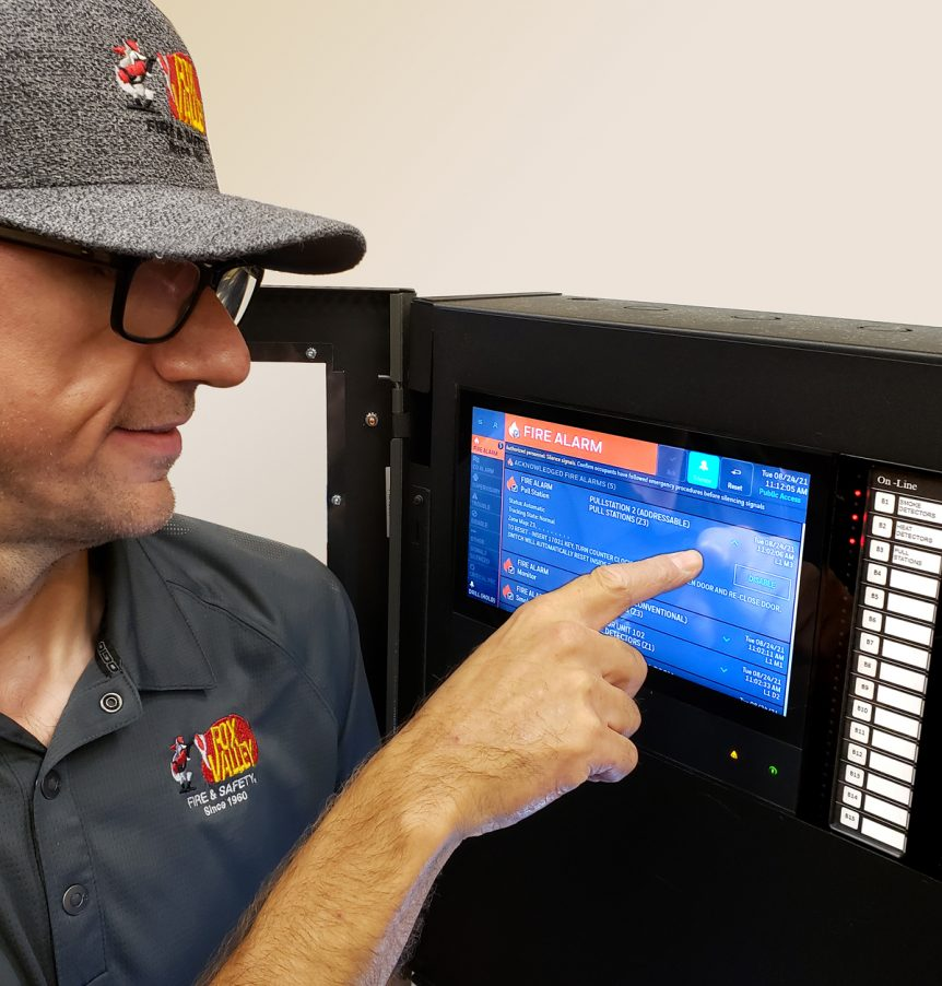 NOTIFIER INSPIRE Fire Alarm Panel Tech