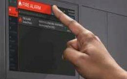 NOTIFIER INSPIRE HD Touchscreen Display