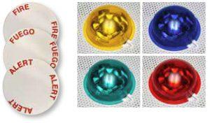 System Sensor L-Series Drop-In Ceiling Speaker Strobes Lens Decals