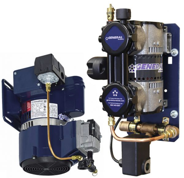 General Air Products Air Compressors for Dry Sprinkler Systems