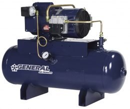 General Air Products Air Compressors Oil Less Tank Mounted