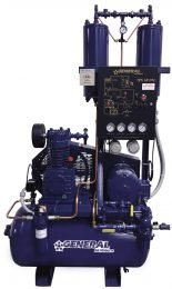 General Air Products DAP Dry Air Pac Air Compressor Dryer Package