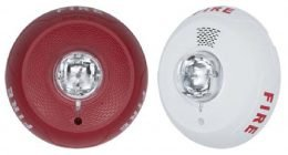 NOTIFIER Strobes Horn-Strobes Indoor Ceiling Selectable-Output